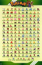 Pokemon - TV Poster - 11 x 17 - Style A