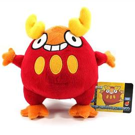Pokemon - Best Wishes 6-Inch Darumaka Plush