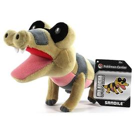 Pokemon - Center Black and White Sandile Plush