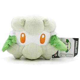 Pokemon - Center Black and White Cottonee Plush