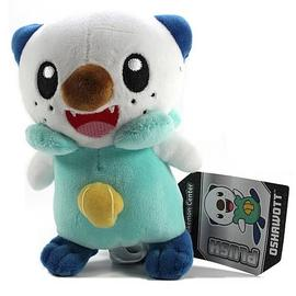 Pokemon - Center Black and White Oshawott Plush