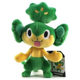 Pokemon - Center Black and White Pansage Plush