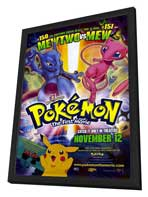 Pokemon: The First Movie - 27 x 40 Movie Poster - Style A - in Deluxe Wood Frame