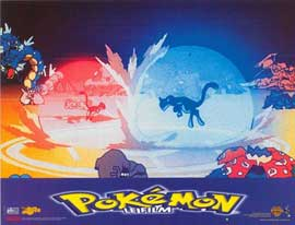Pokemon: The First Movie - 11 x 14 Poster French Style A