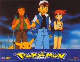 Pokemon: The First Movie - 11 x 14 Poster French Style F