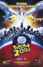 Pokemon the Movie 2000: The Power of One - 11 x 17 Movie Poster - Style A