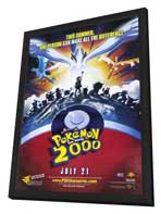 Pokemon the Movie 2000: The Power of One - 11 x 17 Movie Poster - Style A - in Deluxe Wood Frame