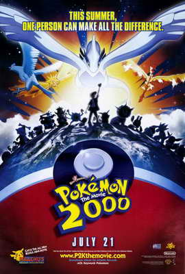 Pokemon the Movie 2000: The Power of One - 27 x 40 Movie Poster