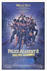 Police Academy 2: Their First Assignment - 43 x 62 Movie Poster - Bus Shelter Style A