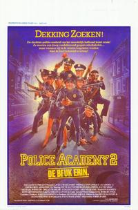 Police Academy 2: Their First Assignment - 11 x 17 Movie Poster - Belgian Style A