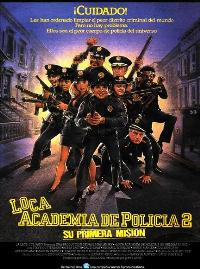Police Academy 2: Their First Assignment - 27 x 40 Movie Poster - Spanish Style A