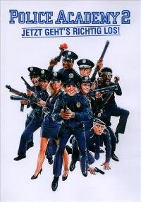Police Academy 2: Their First Assignment - 27 x 40 Movie Poster - German Style A
