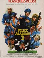 Police Academy 3: Back in Training - 11 x 17 Movie Poster - French Style A