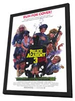 Police Academy 3: Back in Training - 11 x 17 Movie Poster - Style A - in Deluxe Wood Frame
