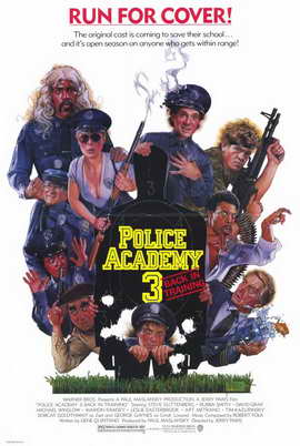 Police Academy 3: Back in Training - 11 x 17 Movie Poster - Style A