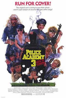 Police Academy 3: Back in Training - 27 x 40 Movie Poster - Style A