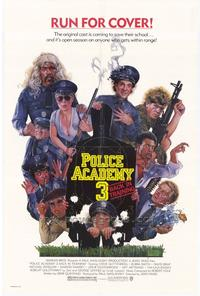 Police Academy 3: Back in Training - 43 x 62 Movie Poster - Bus Shelter Style A