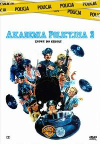 Police Academy 3: Back in Training - 27 x 40 Movie Poster - Polish Style A