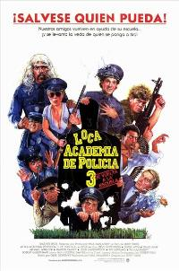 Police Academy 3: Back in Training - 11 x 17 Movie Poster - Spanish Style A