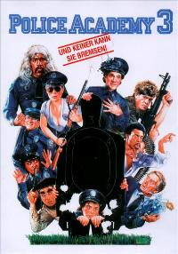 Police Academy 3: Back in Training - 11 x 17 Movie Poster - German Style A