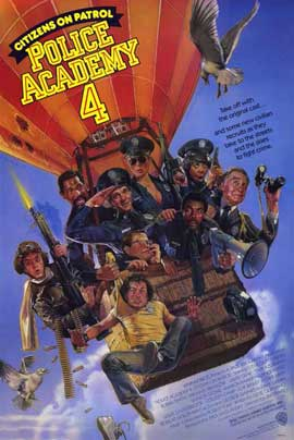 Police Academy 4: Citizens on Patrol - 11 x 17 Movie Poster - Style A