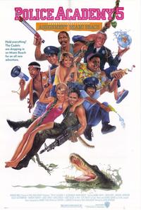 Police Academy 5: Assignment Miami Beach - 43 x 62 Movie Poster - Bus Shelter Style A