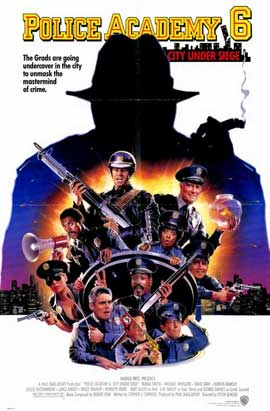 Police Academy 6: City under Siege - 11 x 17 Movie Poster - Style A