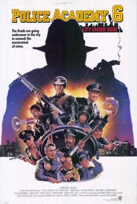 Police Academy 6: City under Siege - 27 x 40 Movie Poster - Style A
