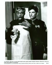 Police Academy 6: City under Siege - 8 x 10 B&W Photo #1