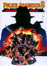 Police Academy 6: City under Siege - 11 x 17 Movie Poster - German Style A