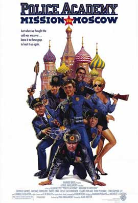 Police Academy: Mission to Moscow - 11 x 17 Movie Poster - Style A