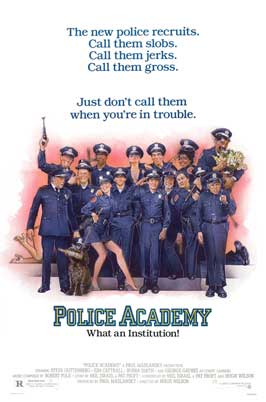 Police Academy - 11 x 17 Movie Poster - Style B