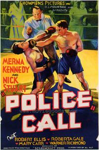 Police Call - 43 x 62 Movie Poster - Bus Shelter Style A