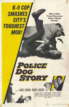 Police Dog Story - 11 x 17 Movie Poster - Style A