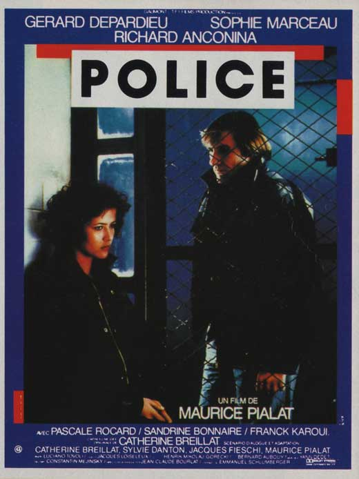 Police affiche