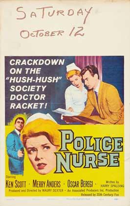 Police Nurse - 11 x 17 Movie Poster - Style A