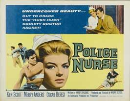 Police Nurse - 22 x 28 Movie Poster - Half Sheet Style A