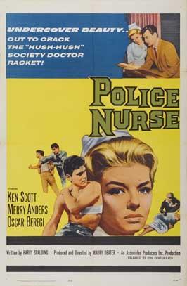 Police Nurse - 27 x 40 Movie Poster - Style B