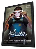 Polisse - 11 x 17 Movie Poster - French Style C - in Deluxe Wood Frame
