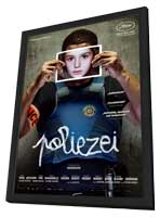 Polisse - 11 x 17 Movie Poster - German Style A - in Deluxe Wood Frame
