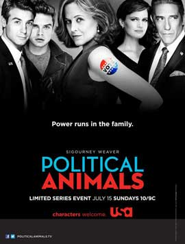 Political Animals (TV) - 11 x 17 TV Poster - Style A