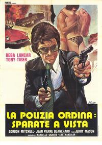 Polizia Ordina: sparate a vista, La - 11 x 17 Movie Poster - Italian Style A