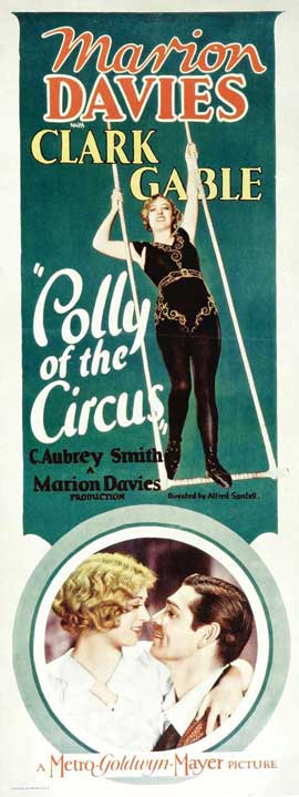 Polly of the Circus - 14 x 36 Movie Poster - Insert Style A