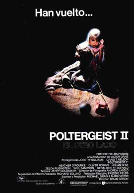 Poltergeist 2: The Other Side - 27 x 40 Movie Poster - Spanish Style A
