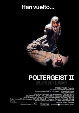 Poltergeist 2: The Other Side - 43 x 62 Movie Poster - Spanish Style A