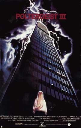 Poltergeist 3 - 27 x 40 Movie Poster - Style C
