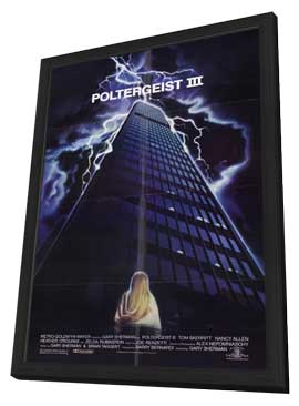 Poltergeist 3 - 11 x 17 Movie Poster - Style A - in Deluxe Wood Frame