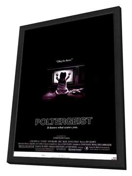 Poltergeist - 11 x 17 Movie Poster - Style A - in Deluxe Wood Frame