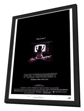 Poltergeist - 27 x 40 Movie Poster - Style A - in Deluxe Wood Frame