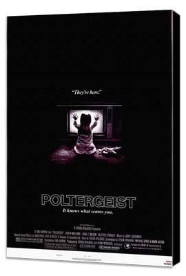 Poltergeist - 11 x 17 Movie Poster - Style A - Museum Wrapped Canvas